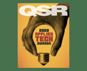 Winner of the QSR magazine 2020 Applied Tech Award